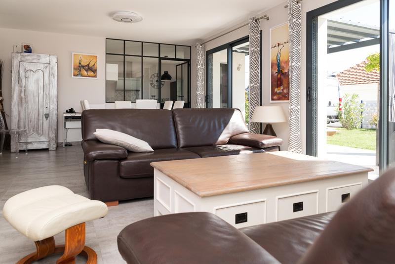 Salon sur-mesure d'une maison en Charente Maritime