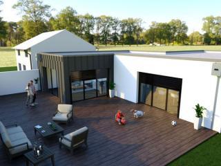 magnifique maison moderne villa tradition