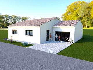 maison terrain à vendre dompierre 17