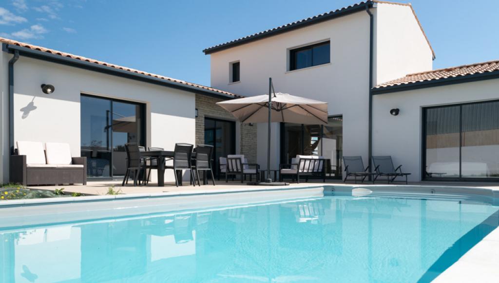Construction d'une maison avec piscine à Niort