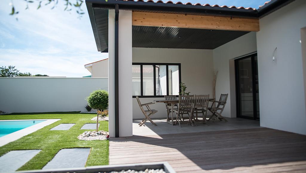 maison contemporaine villa tradition